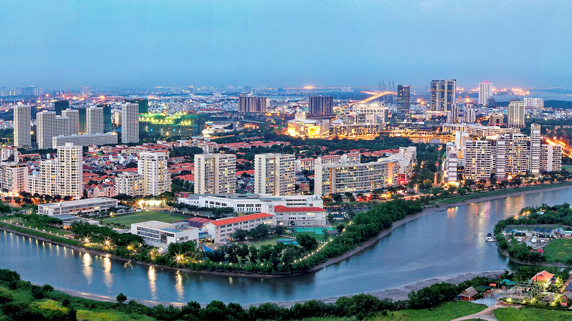 Giới thiệu khu đô thị Phú Mỹ Hưng