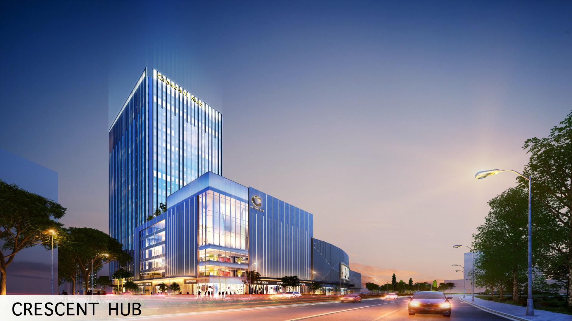 trung tâm thương mại crescent mall 2