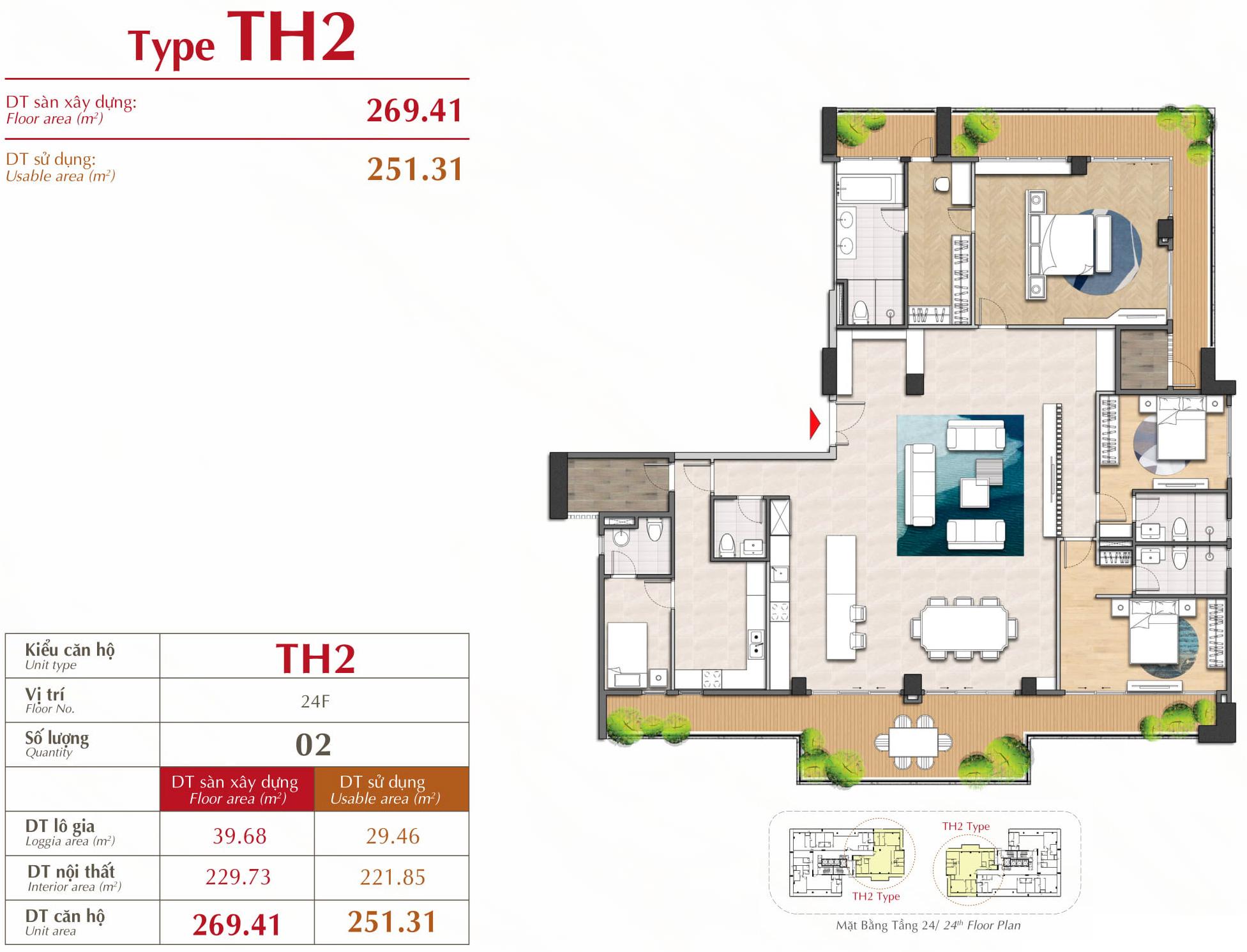penthouse căn hộ the antonia
